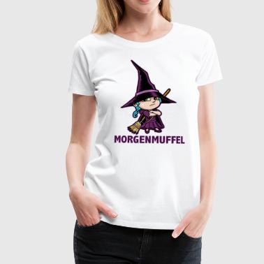 Morning Muffle - Witch Lucy - Women's Premium T-Shirt