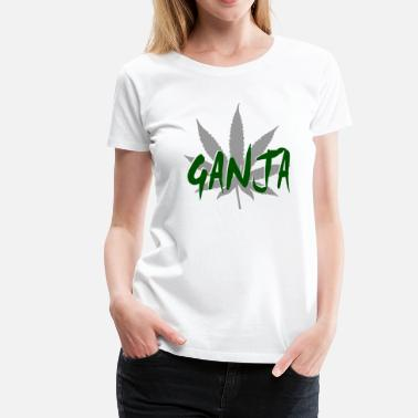 Ganja Smoking ganja - Women's Premium T-Shirt