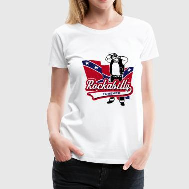 Stray Cats Rockabilly toujours - T-shirt Premium Femme