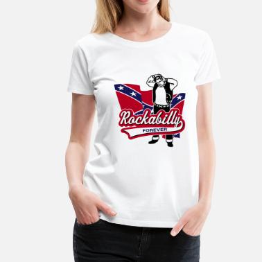 Elvis Rockabilly Forever - Women's Premium T-Shirt