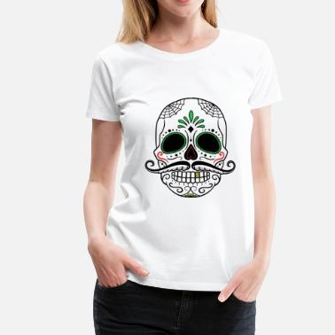 Day Of The Dead day of the dead skull - Frauen Premium T-Shirt