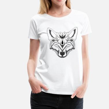 Minimalist fox - Women's Premium T-Shirt