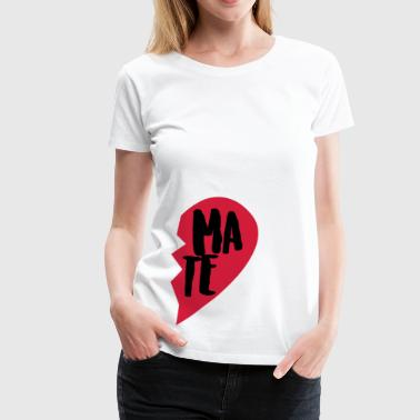 Soul Mate Couple Shirt - Women's Premium T-Shirt
