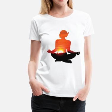 India Yoga YOGA / MEDITATION / BUDDHA / INDIA - Women's Premium T-Shirt
