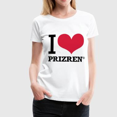 I LOVE PRIZREN - Women's Premium T-Shirt