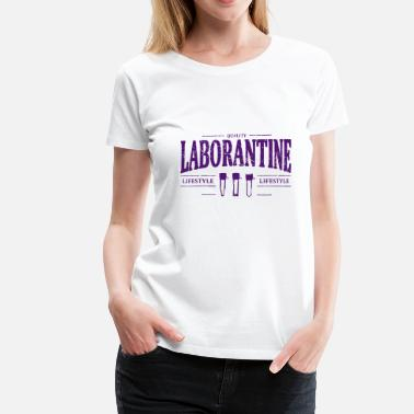 Laboratorium laboratorium-assistent - Vrouwen Premium T-shirt
