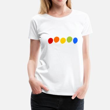 Balloons Balloon colorful - Women's Premium T-Shirt