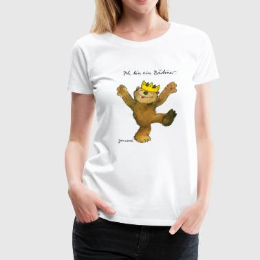 Janosch's bear of Berlin - Women's Premium T-Shirt