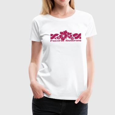 Pacific Surfing - Women's Premium T-Shirt
