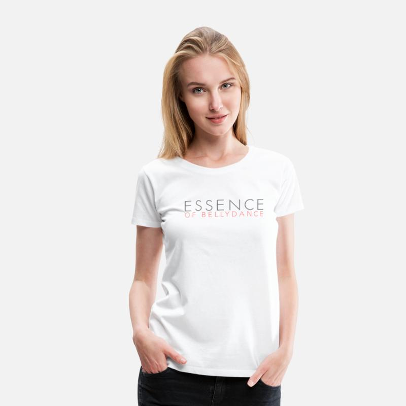 Dancer T-Shirts - Essence of bellydance - Women's Premium T-Shirt white