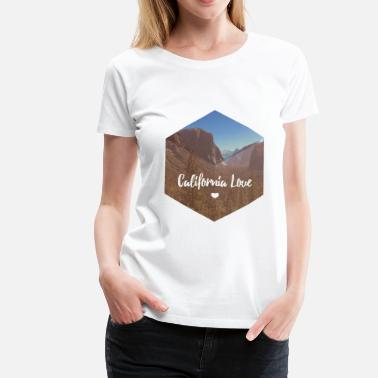 Nationaal Park California Yosemite National Park - Vrouwen Premium T-shirt