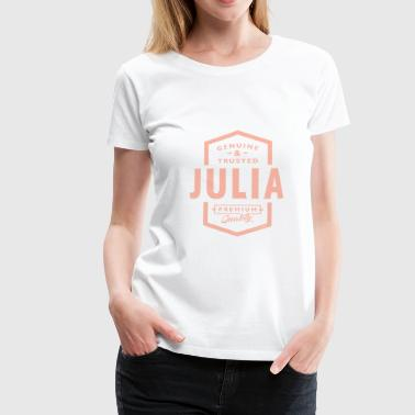 JULIA - Frauen Premium T-Shirt