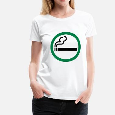 Allowed smoking allowed - Women's Premium T-Shirt