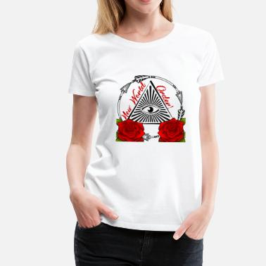 New World Order NEW WORLD ORDER - TATTOO GIFT COLOR sprüche - Vrouwen Premium T-shirt