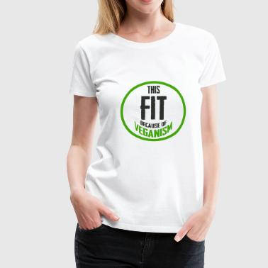 Vegan Vegan Slimming Fit Fitness regalo - Camiseta premium mujer