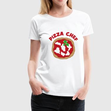 2541614 127791678 pizza chef-kok - Vrouwen Premium T-shirt