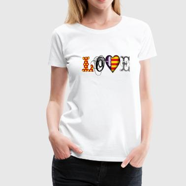 Love Mallorca Black - Frauen Premium T-Shirt