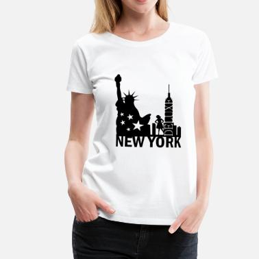 New York City Deluxe - Frauen Premium T-Shirt