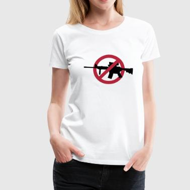 No guns no war - Frauen Premium T-Shirt