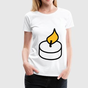Candle candle - Women's Premium T-Shirt