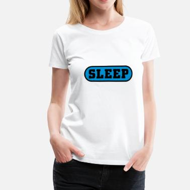 Fuck Button Sleep Button Baby Long Sleeve Shirts - Women's Premium T-Shirt