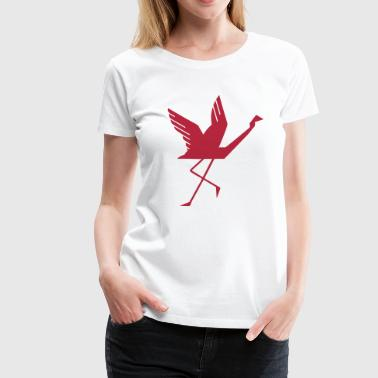 Flamingo Design - Frauen Premium T-Shirt