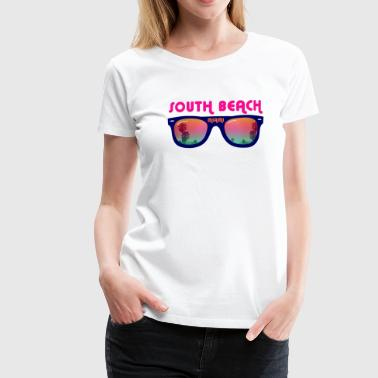 South Beach Miami - T-shirt Premium Femme