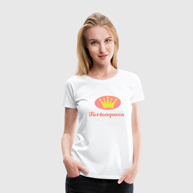 backen - tortenqueen - Frauen Premium T-Shirt