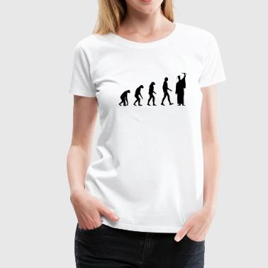 College Graduation Evolution Graduation - Women's Premium T-Shirt