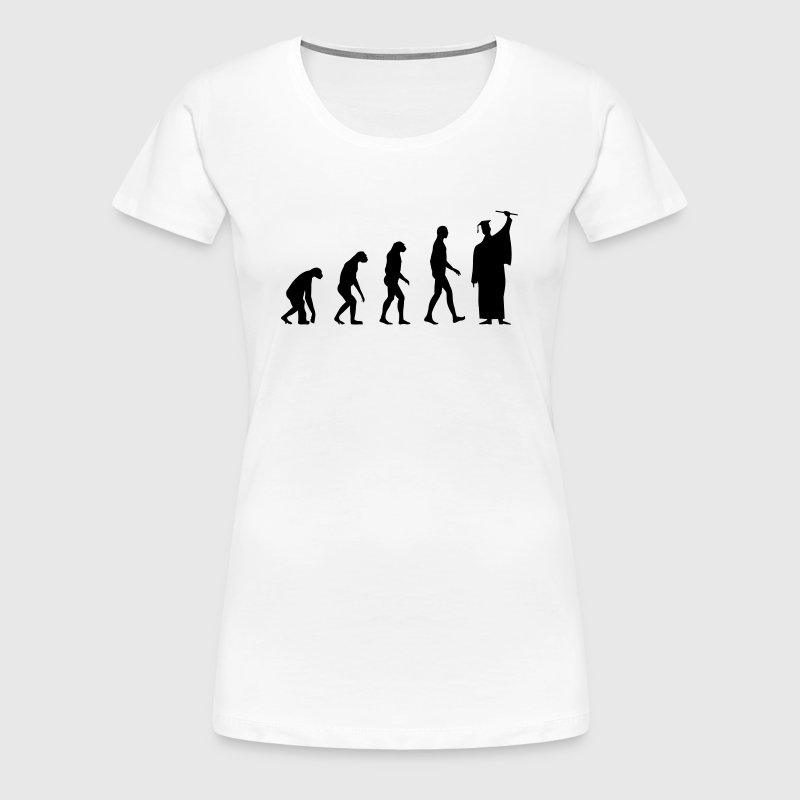 Evolution Graduation - Women's Premium T-Shirt