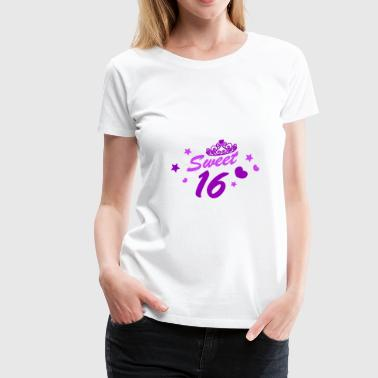 Sweet 16 Sweet 16 Birthday T Shirt Poison - Women's Premium T-Shirt