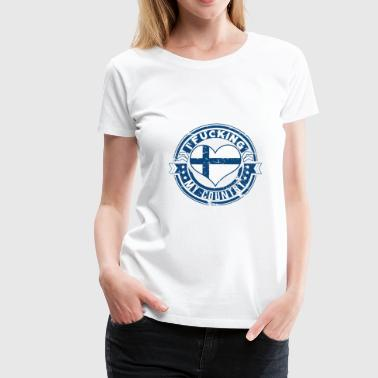 I love Finland for the finish people - Women's Premium T-Shirt