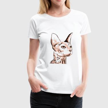 SMALL SPHINX - Vrouwen Premium T-shirt