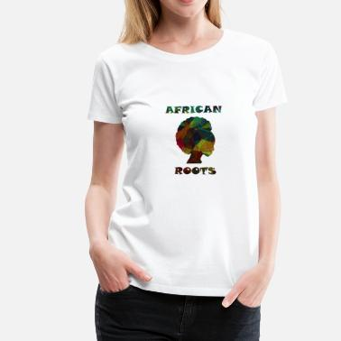 Unity African Roots - Women's Premium T-Shirt