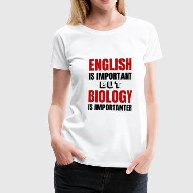 Biology teacher Biology teacher Gift idea - Women's Premium T-Shirt