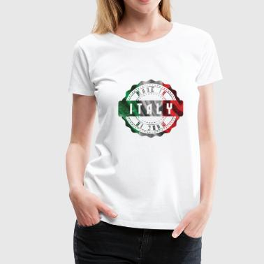 Gift Italy Country of Birth Patriot Rome Milan - Women's Premium T-Shirt