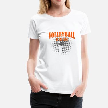 Vball Volleyball Is My Life - Women's Premium T-Shirt