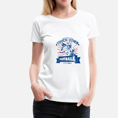 American College College American Football Touchdown - Women's Premium T-Shirt