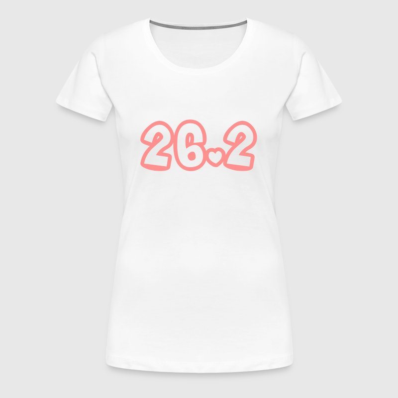 Twenty six point two - Women's Premium T-Shirt