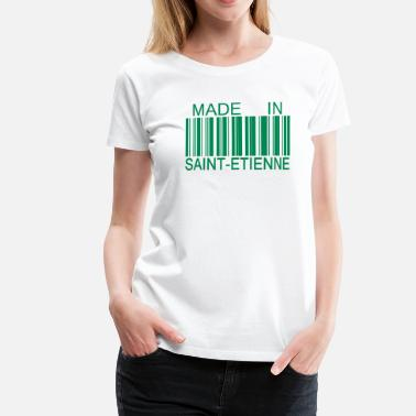 Stéphanois Made in Saint- Etienne 42 - T-shirt Premium Femme