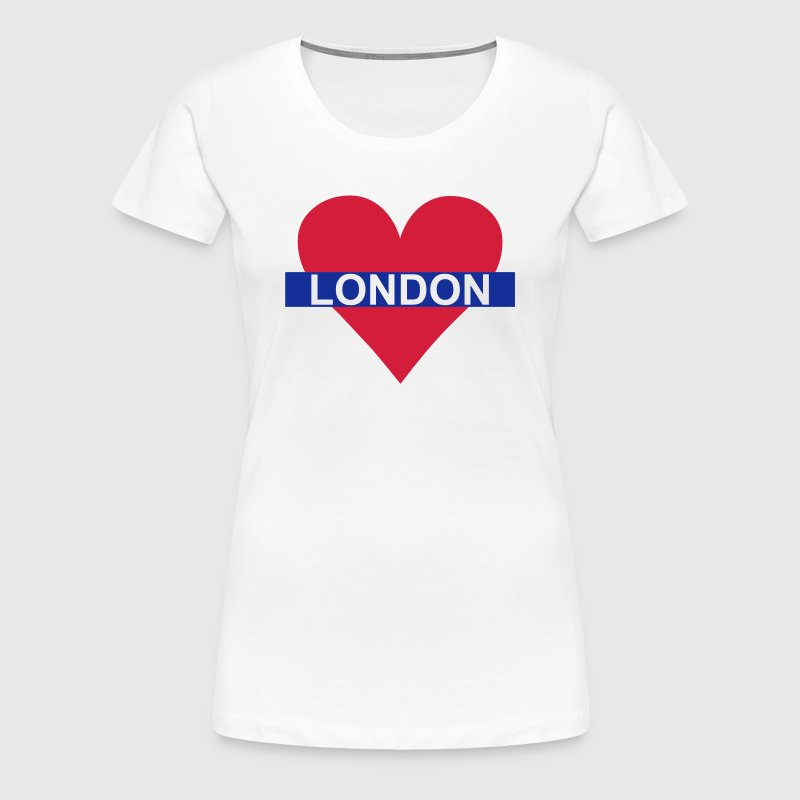 Love London - Underground - Women's Premium T-Shirt