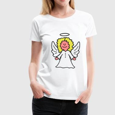 Christkind Engel - Frauen Premium T-Shirt