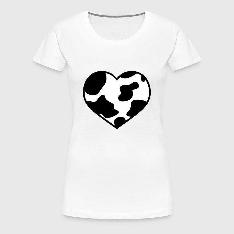 i love cow | ich liebe Kuh | Wildlove - Women's Premium T-Shirt