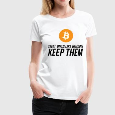 HODL GIRLS - Women's Premium T-Shirt