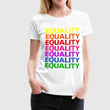 Rainbow flag equality equality - Women's Premium T-Shirt
