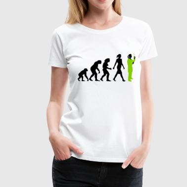 evolution_chemikerinbiologin_mta_042015_ - Frauen Premium T-Shirt