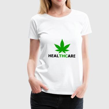 Health care cannabis with THC - Women's Premium T-Shirt