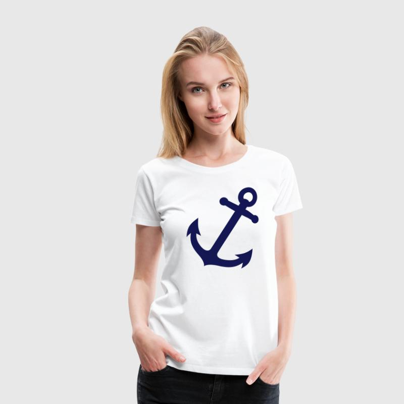 anchor anker - Premium T-skjorte for kvinner