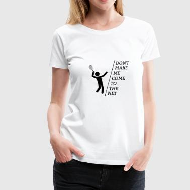 Tennis tennis match - Women's Premium T-Shirt
