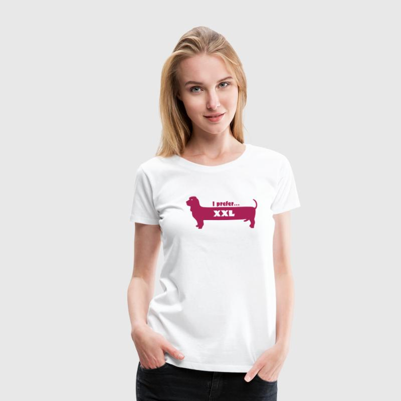 Wiener Dog - Women's Premium T-Shirt